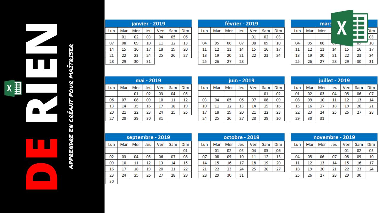 calendrier et agenda