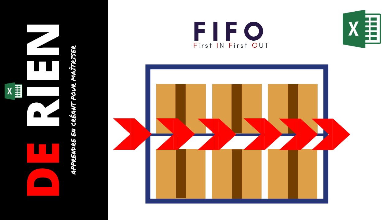 FIFO sur Excel
