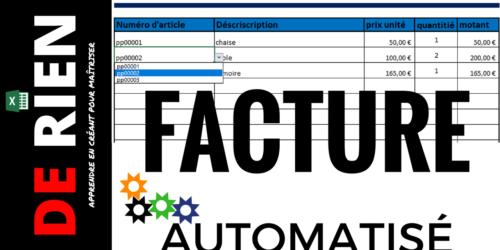 Facture automatisé