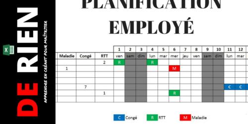 Planification des absences des employés